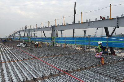 Lưới an toàn lan can công trình