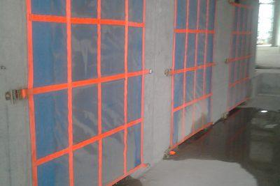 Lưới an toàn chống rơi cho thang máy