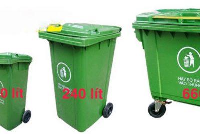 Cung cấp Thùng rác 20 lít – 60 lít – 120 lít – 240 lít – 660 lít tại Huế – Đà Nẵng – Quảng Nam – Quảng Ngãi